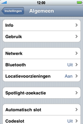 Apple iPhone 3G S - MMS - handmatig instellen - Stap 4