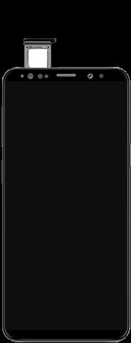 Samsung Galaxy S9 - Premiers pas - Insérer la carte SIM - Étape 5
