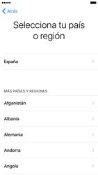 Apple iPhone 6 iOS 10 - Primeros pasos - Activar el equipo - Paso 7