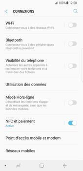 Samsung Galaxy S8 - Android Oreo - Réseau - utilisation à l'étranger - Étape 8