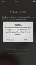 Apple iPhone 5 met iOS 7 - Applicaties - FaceTime gebruiken - Stap 6