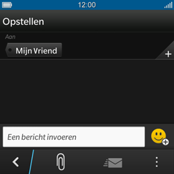 BlackBerry Q10 - MMS - hoe te versturen - Stap 7