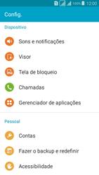Samsung G530FZ Galaxy Grand Prime - Chamadas - Como bloquear chamadas de um número específico - Etapa 4