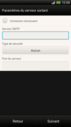 HTC S728e One X Plus - E-mail - Configuration manuelle - Étape 13
