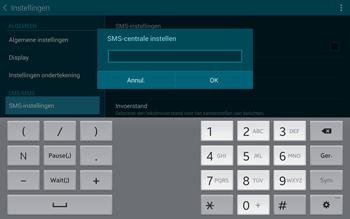 Samsung T805 Galaxy Tab S - SMS - Handmatig instellen - Stap 8
