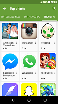 Acer Liquid Zest 4G Plus - Applications - Download apps - Step 14