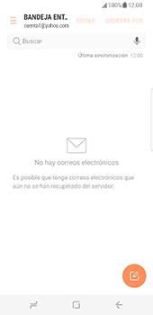 Samsung Galaxy S8 - E-mail - Configurar Yahoo! - Paso 10