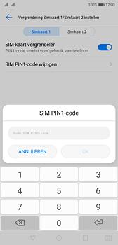 Huawei P20 Dual-SIM (Model EML-L29) - Beveiliging en ouderlijk toezicht - Hoe wijzig ik mijn SIM PIN-code - Stap 8