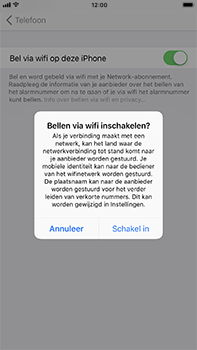 Apple iPhone 8 Plus - Bellen - bellen via wifi (VoWifi) - Stap 6