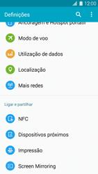 Samsung Galaxy S5 - Internet no telemóvel - Como configurar ligação à internet -  4