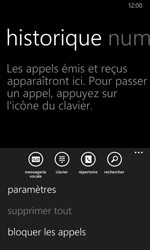 Nokia Lumia 635 - Messagerie vocale - configuration manuelle - Étape 6