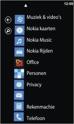 Nokia Lumia 800 - Voicemail - Handmatig instellen - Stap 3
