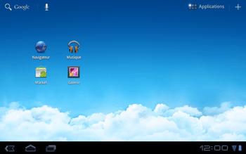 Huawei Mediapad S7-301u - Internet - Sites web les plus populaires - Étape 1