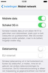 Apple iPhone 4s iOS 8 - Internet - Aan- of uitzetten - Stap 4