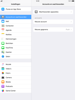 Apple iPad Mini 4 - iOS 11 - E-mail - e-mail instellen (yahoo) - Stap 4