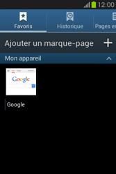 Samsung S6810P Galaxy Fame - Internet - navigation sur Internet - Étape 9