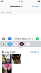 Apple iPhone 6 - iOS 12 - MMS - hoe te versturen - Stap 8