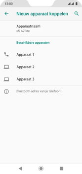 Xiaomi Mi A2 Lite - Bluetooth - koppelen met ander apparaat - Stap 8
