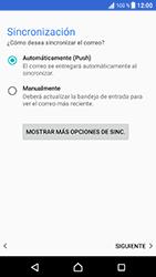 Sony Xperia XZ - Android Nougat - E-mail - Configurar Outlook.com - Paso 13