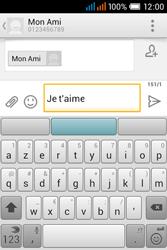 Alcatel OT-4015X Pop C1 - Contact, Appels, SMS/MMS - Envoyer un SMS - Étape 9