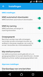 Sony E5823 Xperia Z5 Compact - Android Nougat - MMS - probleem met ontvangen - Stap 7