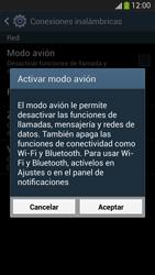 Samsung Galaxy S4 - Funciones básicas - Activar o desactivar el modo avión - Paso 6