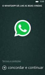 Nokia Lumia 625 - Aplicações - Como configurar o WhatsApp -  5