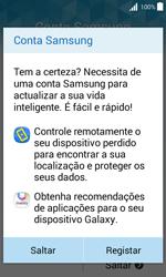 Samsung Galaxy J1 - Primeiros passos - Como ligar o telemóvel pela primeira vez -  16