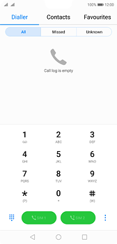 Huawei P20 - Voicemail - Manual configuration - Step 3