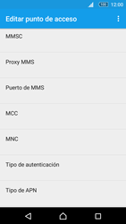 Sony Xperia M5 (E5603) - Mensajería - Configurar el equipo para mensajes multimedia - Paso 12