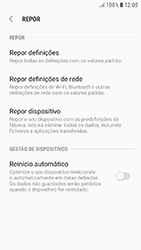 Samsung Galaxy A3 (2016) - Android Nougat - Repor definições - Repor definições de fábrica do telemóvel -  7
