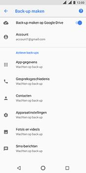 Nokia 5.1 - Data - maak een back-up met je account - Stap 7