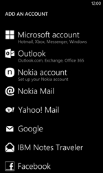 Nokia Lumia 1020 - Email - Manual configuration - Step 6
