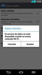 LG G2 - Internet - Activar o desactivar la conexión de datos - Paso 7