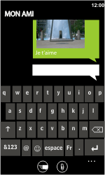 HTC 7 Trophy - MMS - envoi d'images - Étape 11