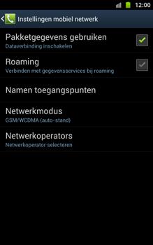 Samsung N7000 Galaxy Note - OS 4 ICS - Bellen - in het buitenland - Stap 7
