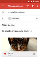 Nokia 3 - Android Oreo - E-mail - envoyer un e-mail - Étape 14