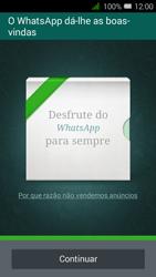 Alcatel Pixi 3 - Aplicações - Como configurar o WhatsApp -  10