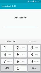 Samsung Galaxy S4 LTE - Segurança - Como ativar o código de bloqueio do ecrã -  8