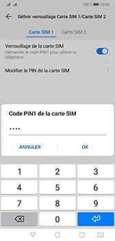 Huawei Mate 20 - Sécurité - modifier SIM PIN - Étape 10