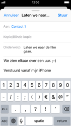 Apple iPhone SE - iOS 11 - E-mail - Bericht met attachment versturen - Stap 8