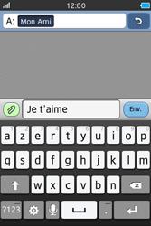 Samsung Wave M - Contact, Appels, SMS/MMS - Envoyer un SMS - Étape 9