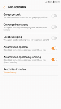 Samsung Galaxy J7 (2017) - MMS - probleem met ontvangen - Stap 9