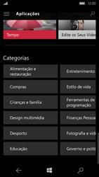 Microsoft Lumia 650 - Aplicações - Como pesquisar e instalar aplicações -  11