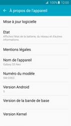Samsung G903F Galaxy S5 Neo - Réseau - Installation de mises à jour - Étape 6