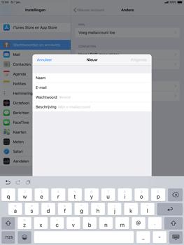 Apple ipad-air-10-5-inch-2019-model-a2123 - E-mail - Account instellen (POP3 zonder SMTP-verificatie) - Stap 8