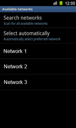 Samsung I8160 Galaxy Ace II - Network - Usage across the border - Step 9