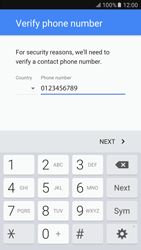 Samsung Samsung G920 Galaxy S6 (Android M) - Applications - Create an account - Step 8