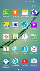Samsung Galaxy S6 Edge - SMS - Como configurar o centro de mensagens -  3