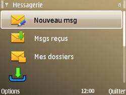 Nokia E72 - E-mail - envoyer un e-mail - Étape 3